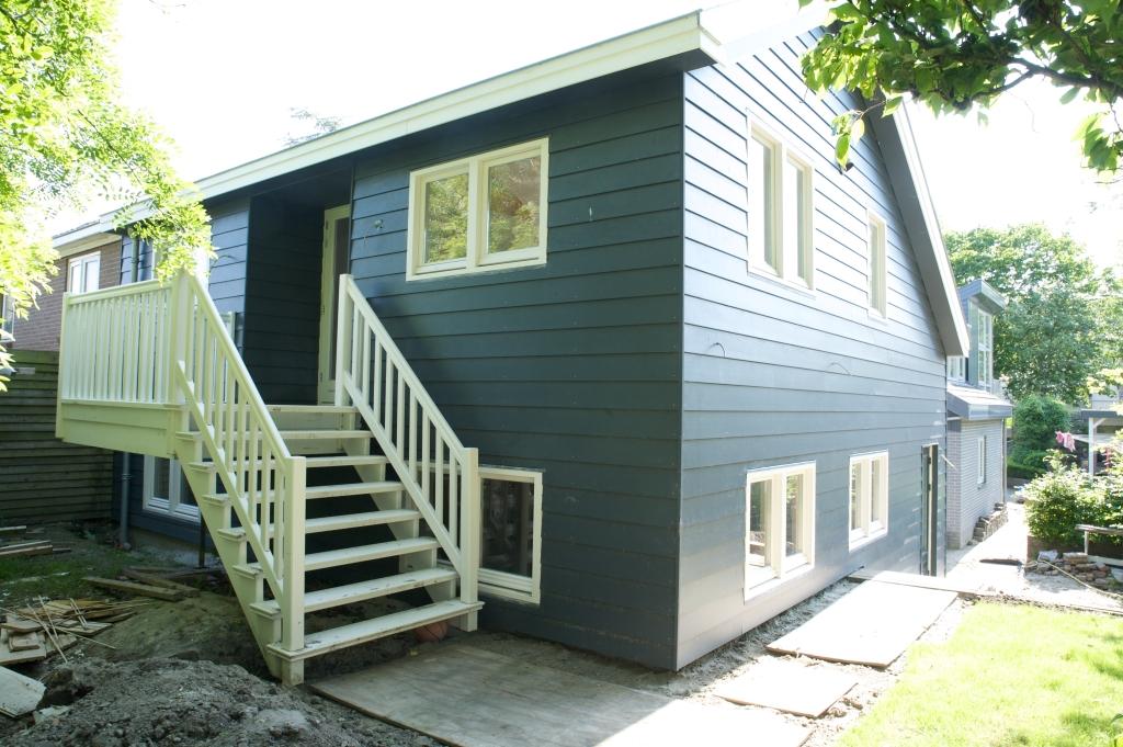 Uitbreiding Aan Huis : Uitbreiding woonhuis sluis en verlenging dak bestaande woning